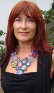 Eclectica beaded necklace by Melanie de Miguel
