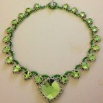 Isabella Necklace - Peridot