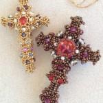 Byzantine Cross by Melanie de Miguel