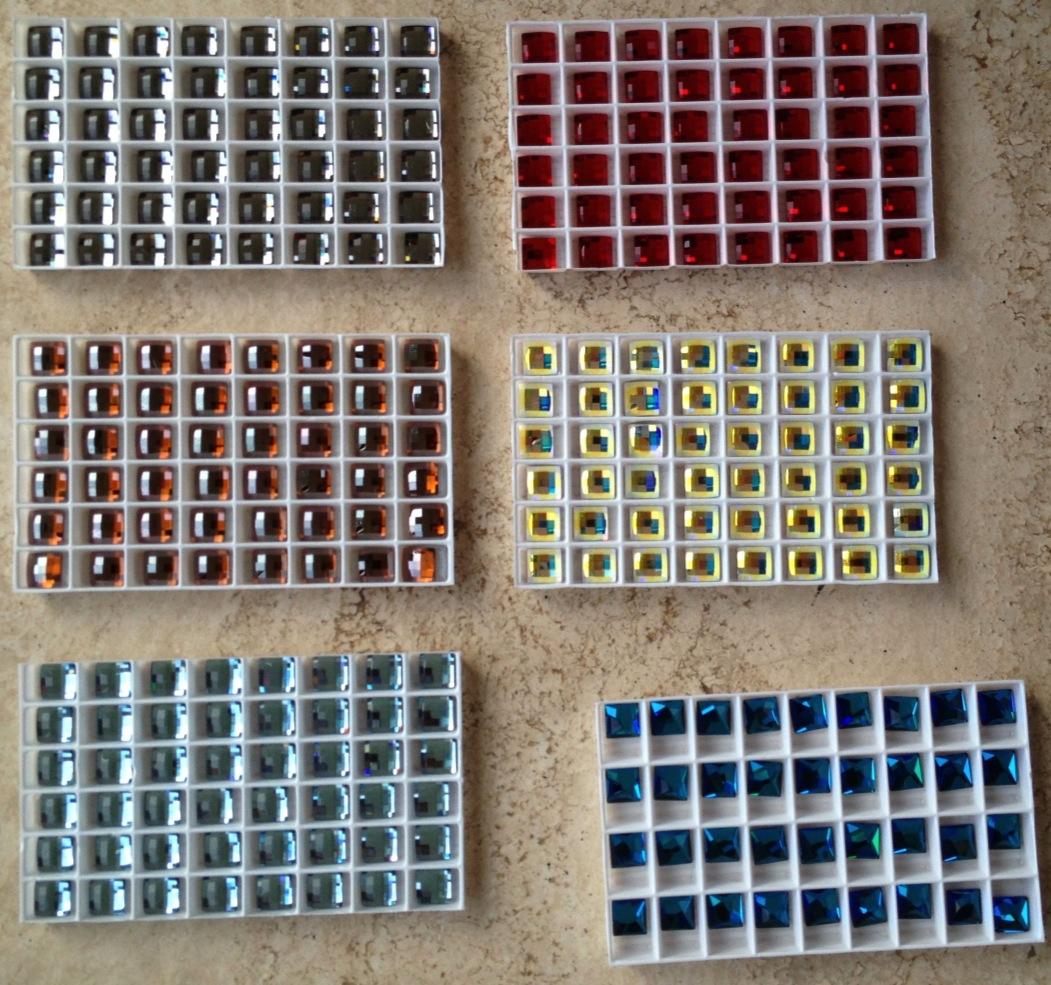 Swarovski Chessboard Crystals