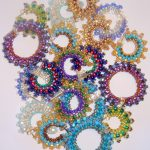 Mandelbrot Hoop Earrings