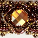 Lorenzo de Medici Bracelet in Crystal Copper with Bronze